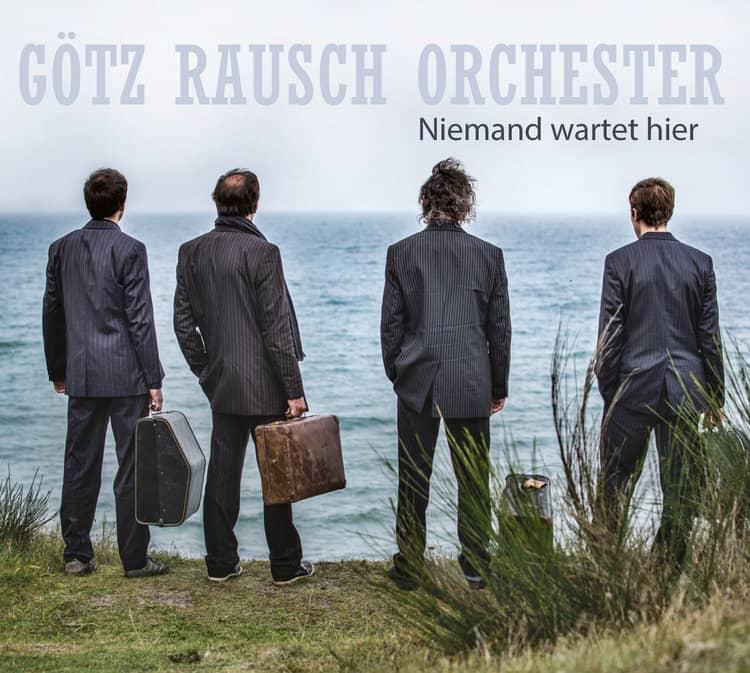 """Albumcover """"Niemand wartet hier"""", Götz Rausch"""