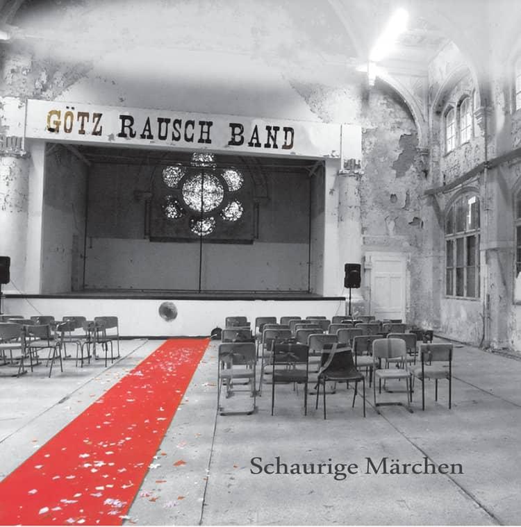 """Albumcover """"Schaurige Märchen"""", Götz Rausch"""""""